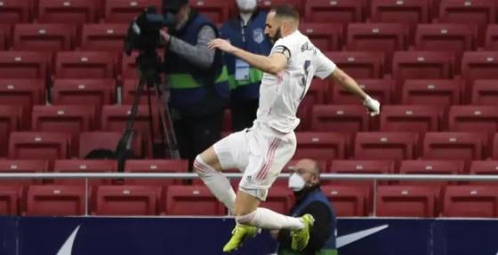Karim Benzema Celebrates (Reuters)