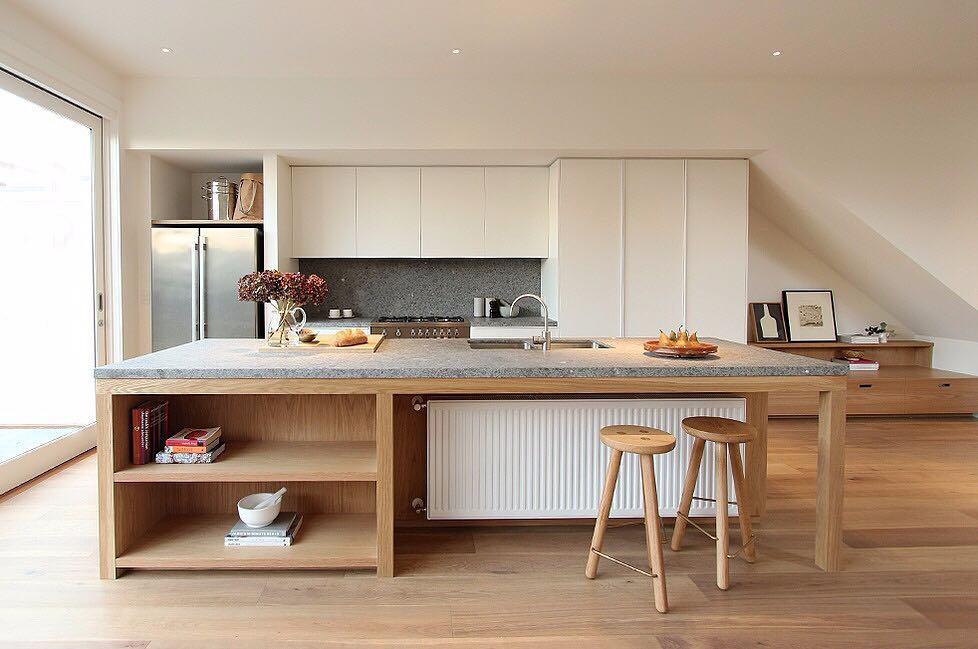 cuisine sans meuble haut