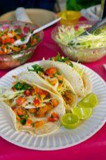 Fish Tacos in Ensenada