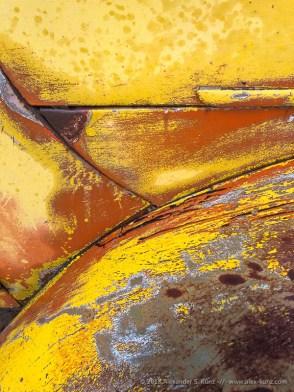 Alexander S. Kunz - Old Car Detail, Motor Transport Museum, Campo, California, March 2018.