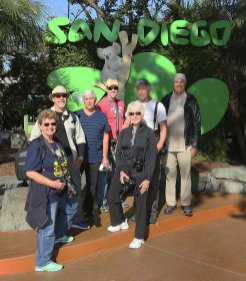 Our group of photographers at the San Diego Zoo in April 2018.
