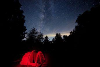 Jim McGinn - Tent under stars