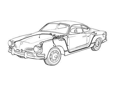 Karmann Ghia Wiring Harness : 27 Wiring Diagram Images