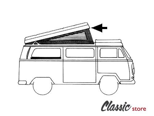 Joint de toit levant Westfalia 1974-1991 (charnières a l