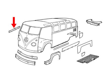 Vw Bus Door Panels VW Bus Door Handles Wiring Diagram ~ Odicis