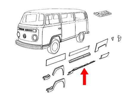 Vw Bus Interior Panels VW Bus Windows Wiring Diagram ~ Odicis