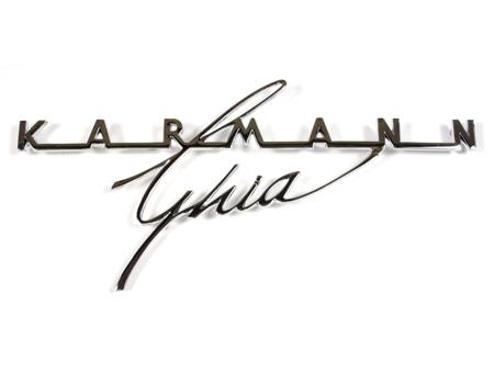 Logo KARMANN GHIA de capot arrière 1964-1974 pour Cox