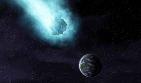 彗星撞地球~不可思議的壓縮技術 30分鐘影片加音效 檔案竟然只有64KB