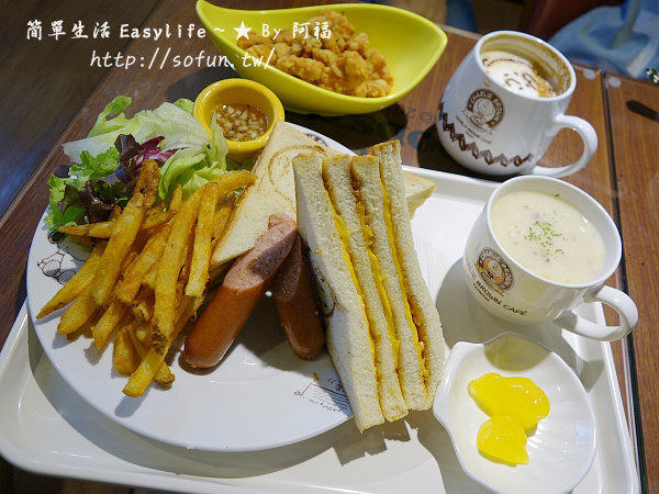 [反推] 新竹史努比餐廳 x 查理布朗咖啡二店@巧遇開幕用餐心得