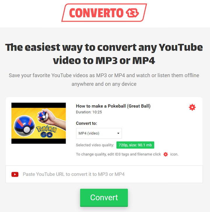 CONV. 免費線上 YouTube 影片轉存 MP3,GIF 或 MP4 檔案下載   搜放資源網