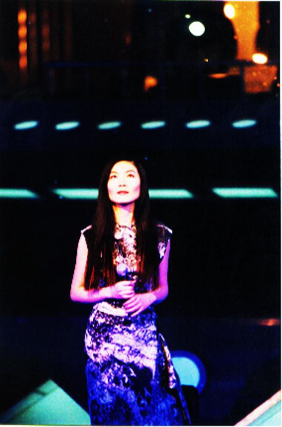 圖文:2000年華語歌曲榜中榜盛典-丁薇-搜狐娛樂