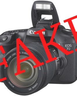BBC's Fake Britain – my fake Canon 7D