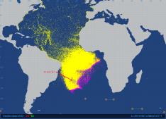 2012-11-29 Vendée Globe satellite