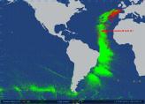 2013-01-27 Vendée Globe satellite