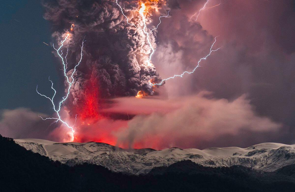 火山爆發了_發型圖片