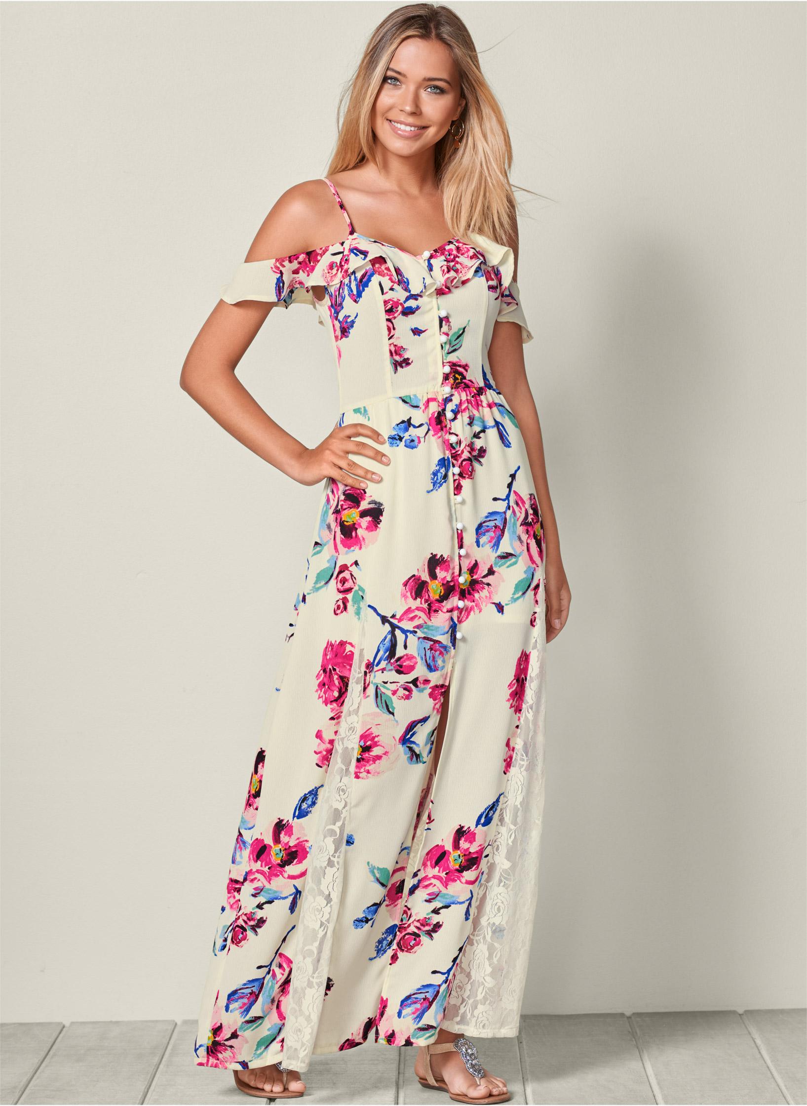 Maxi Dresses Floral Lace Amp Tie Dye Dresses VENUS