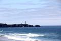 Yaquina Head Lighthouse and coast