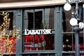 The L'Abbattoir store front sign
