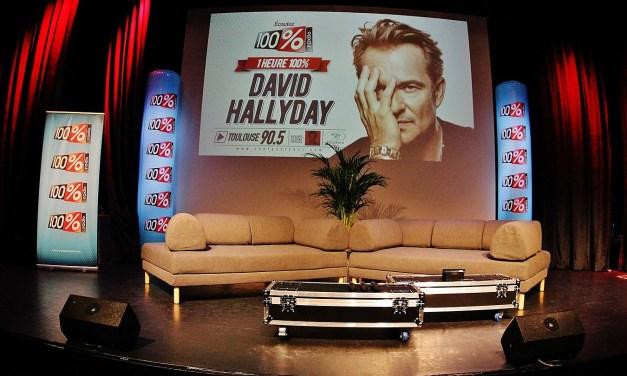 100% Concert privé avec David Hallyday – 100% radio 90.5 FM à Toulouse @ Le Palladia – 18 janvier 2019