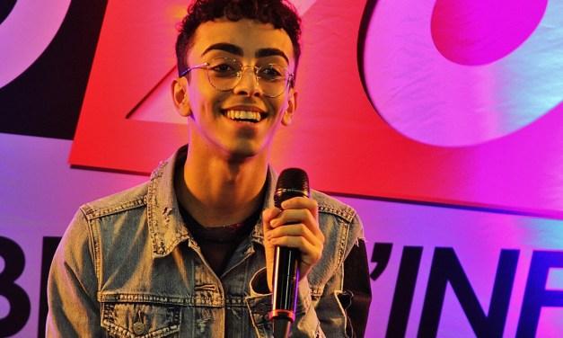Bilal Hassani @ Castres by radio 100% – 6 mai 2019
