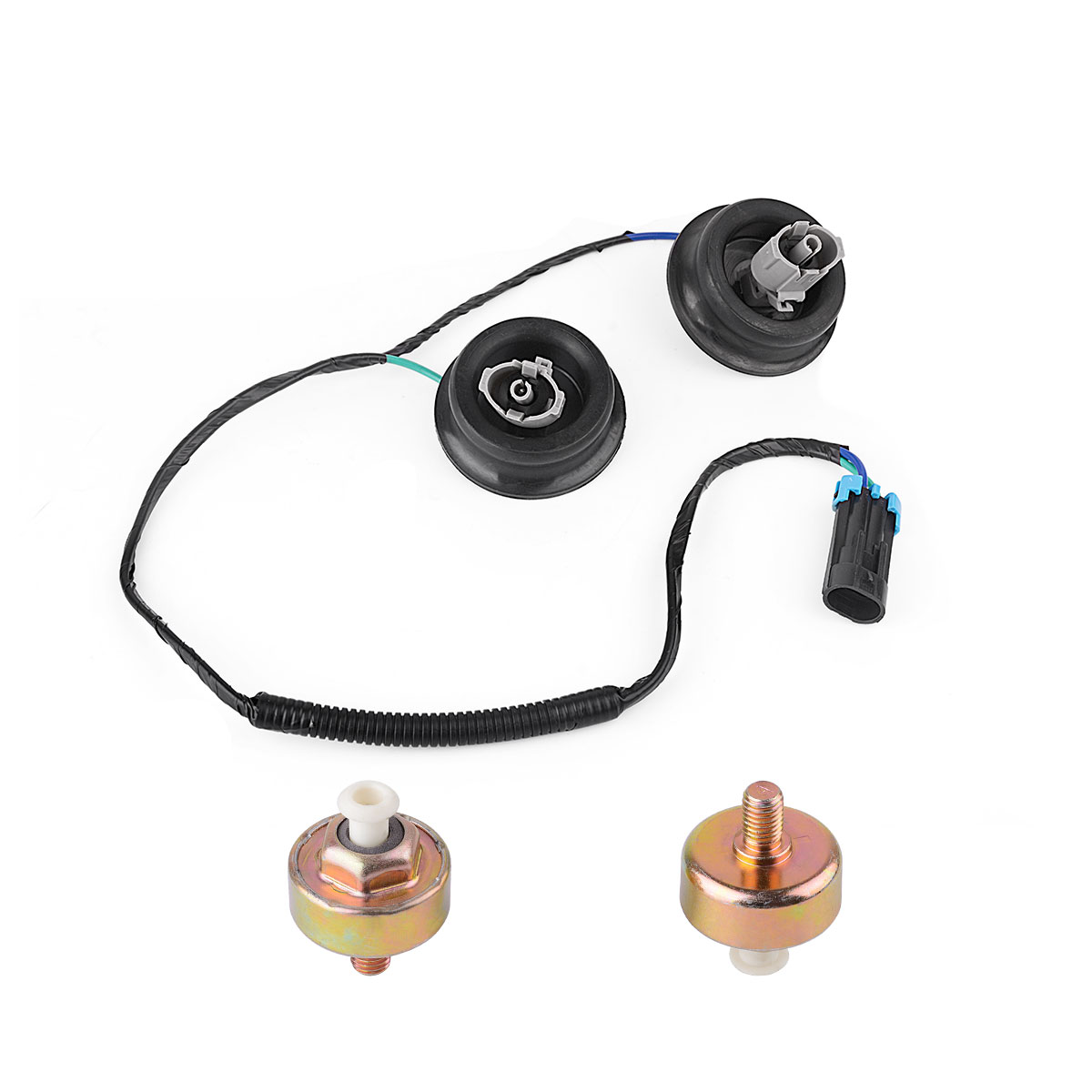 hight resolution of 2 knock sensors wire harness for gm ls1 lq9 ls6 4 8l 5 3l 5 7l 6 0l 8 1l