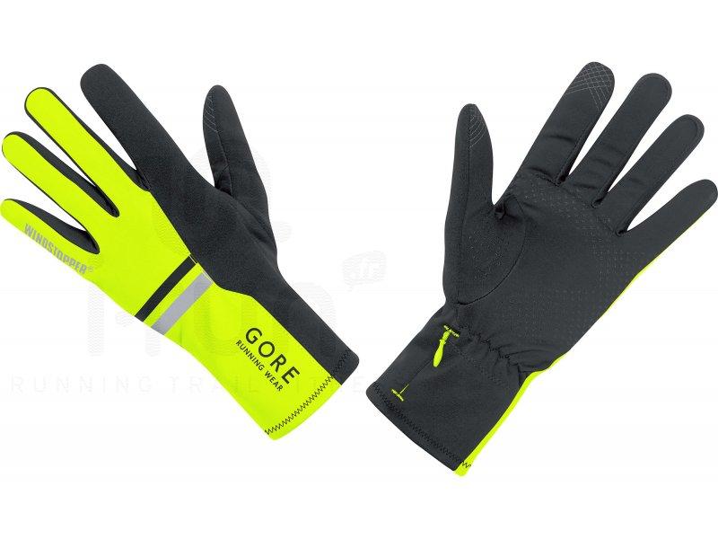 gore running wear gants mythos windstopper soft shell