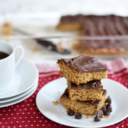 Peanut Butter Oatmeal Bars
