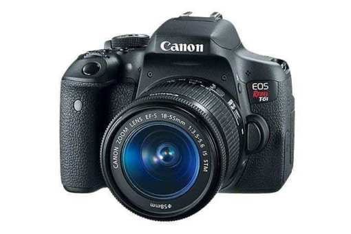 t6i 3q 675x450 - Canon EOS Rebel T6i EF-S 18-55mm IS STM Lens Kit