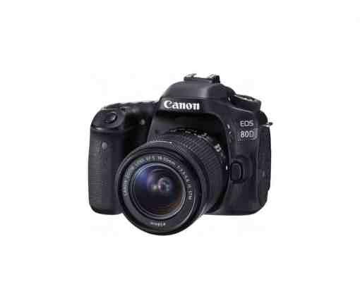 Canon EOS 80D DSLR Camera with 18 55mm Lens1 1 1 - Canon EOS 80D Digital SLR Kit with EF-S 18-55mm f/3.5-5.6 Image Stabilization STM Lens (Black)