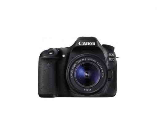 Canon EOS 80D DSLR Camera with 18 55mm Lens1 2 1 - Canon EOS 80D Digital SLR Kit with EF-S 18-55mm f/3.5-5.6 Image Stabilization STM Lens (Black)
