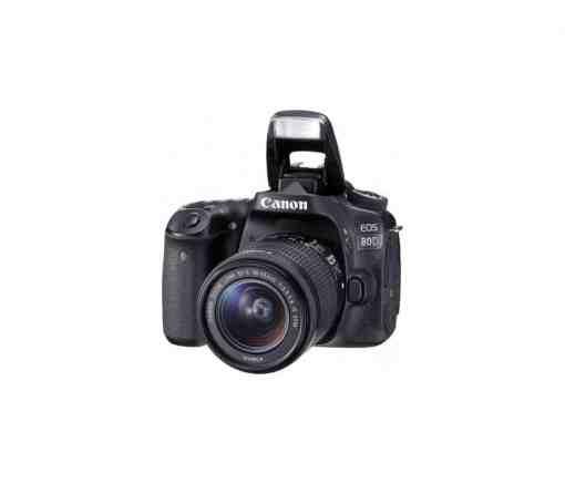 Canon EOS 80D DSLR Camera with 18 55mm Lens1 4 1 - Canon EOS 80D Digital SLR Kit with EF-S 18-55mm f/3.5-5.6 Image Stabilization STM Lens (Black)