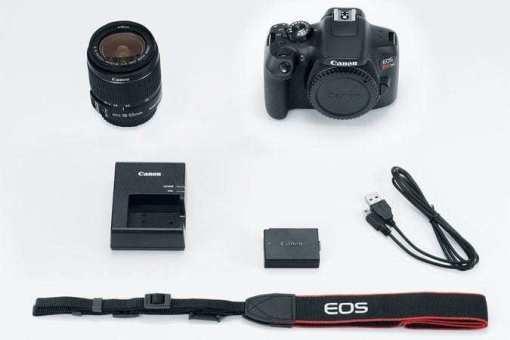 eos rebel t6 kit 675x450 - Canon EOS Rebel T6 Digital SLR Camera + 18-55mm EF-S f/3.5-5.6 IS II Lens