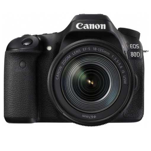 092148e7 f7c7 4af0 bc15 5e61fa28b247 - Canon EOS 80D Video Creator Kit with EF-S 18-135mm 1:3.5-5.6 IS USM Lens, Black (1263C103)
