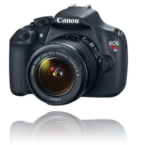 7c4b387b 3125 40d9 90fb e4ee849d2365 - Canon EOS Rebel T5 EF-S 18-55mm IS II Digital SLR Kit