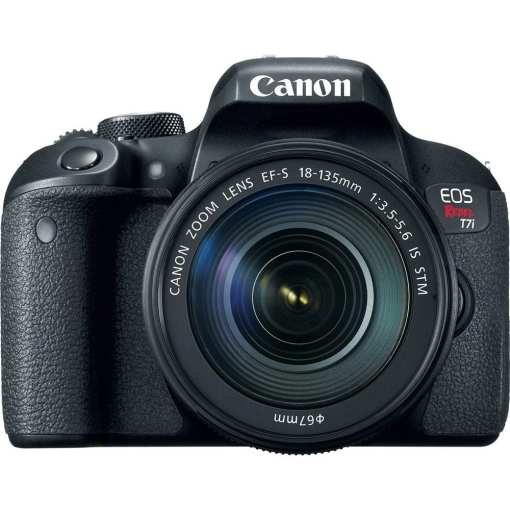 Canon EOS Rebel T7i DSLR Camera with 18 135mm Lens 02 - Canon EOS Rebel T7i 24.2MP Digital SLR Camera with 18-135mm Lens