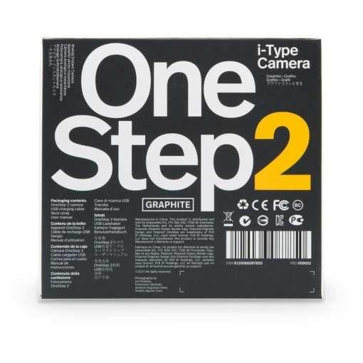 Polaroid Originals OneStep2 Instant Film Camera 05 - Polaroid Originals OneStep 2 Instant Film Camera, Graphite Black
