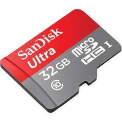 SanDisk Ultra 32GB microSDHC UHS I Card with Adapter 01 - Canon Cameras US 24.2 EOS Rebel SL2 Body