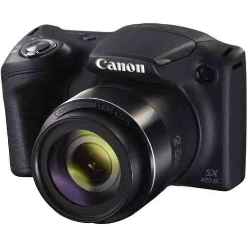 658c4a5b 0e92 49d0 9f23 44744596adc3 - Canon PowerShot SX420 Digital Camera w/ 42x Optical Zoom - Wi-Fi & NFC Enabled (Black)