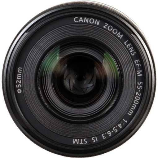 9b02e4bf fffd 4816 ad31 9694d9ce955b - Canon EF-M 55-200mm f/4.5-6.3 Image Stabilization STM Lens (Black)