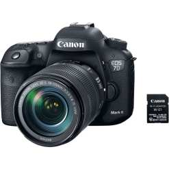 Canon EOS 7D Mark II DSLR Camera with 18 135mm f 3.5 5.6 IS USM Lens W E1 Wi Fi Adapter 01 - Canon EOS 7D Mark II Digital SLR Camera with EF-S 18-135mm IS USM Lens Wi-Fi Adapter Kit