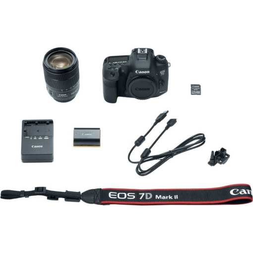 Canon EOS 7D Mark II DSLR Camera with 18 135mm f 3.5 5.6 IS USM Lens W E1 Wi Fi Adapter 010 - Canon EOS 7D Mark II Digital SLR Camera with EF-S 18-135mm IS USM Lens Wi-Fi Adapter Kit