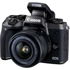 Canon EOS M5 Mirrorless Digital Camera with 15 45mm Lens 02 - Sale