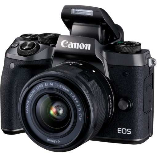 Canon EOS M5 Mirrorless Digital Camera with 15 45mm Lens 02 - Canon EOS M5 EF-M 15-45mm f/3.5-6.3 IS STM Lens Kit