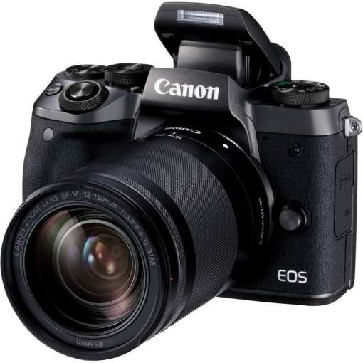 Canon EOS M5 Mirrorless Digital Camera with 18 150mm Lens 02 - Canon EOS M5 EF-M 18-150mm f/3.5-6.3 IS STM Lens Kit