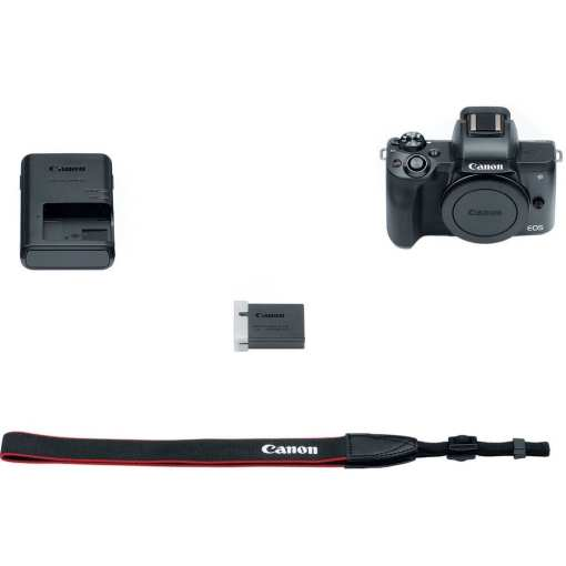 Canon EOS M50 Mirrorless Digital Camera Body Only Black 04 - Canon EOS M50 Mirrorless Camera Body w/ 4K Video (Black)