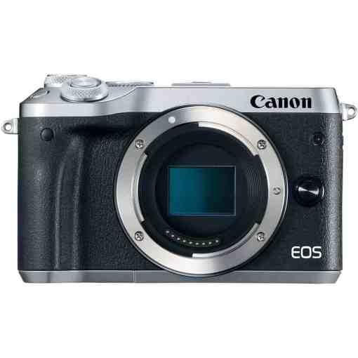 Canon EOS M6 Mirrorless Digital Camera Body Only Silver 01 - Canon EOS M6 Body (Silver)