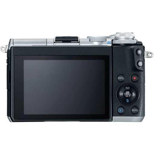 Canon EOS M6 Mirrorless Digital Camera Body Only Silver 02 - Canon EOS M6 Body (Silver)