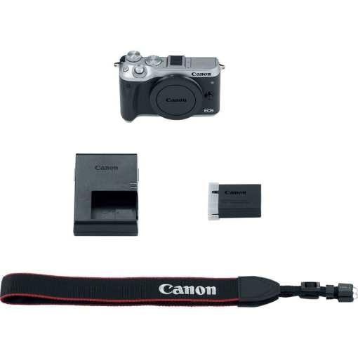 Canon EOS M6 Mirrorless Digital Camera Body Only Silver 04 - Canon EOS M6 Body (Silver)
