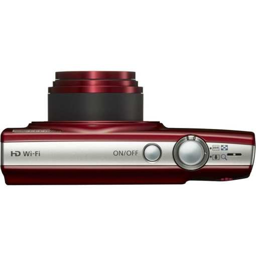 Canon PowerShot ELPH 190 IS Digital Camera Red 06 - Canon PowerShot ELPH 190 IS with 10x Optical Zoom and Built-In Wi-Fi (Red)