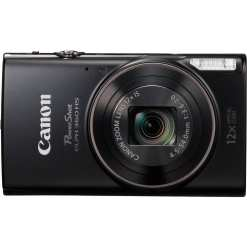 Canon PowerShot ELPH 360 HS Digital Camera Black 02 - Canon PowerShot ELPH 360 HS with 12x Optical Zoom and Built-In Wi-Fi (Black)